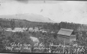 Telkwa, B.C., Hudson Bay Mt. in the distance (descriptions1455)